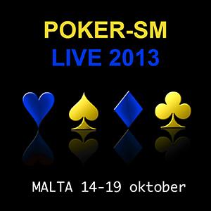 Kval till Poker-SM i Malta